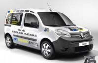 Réalisation Client – marquage véhicule Kangoo – Aluminium Services