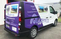 covering Camion Renault Trafic — AZENCO (Cazères)