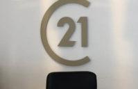 Lettre PVC nouveau logo Century 21 – C21 (Cazères)
