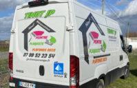 Marquage Pub camion Iveco – Sarl JP TINOT