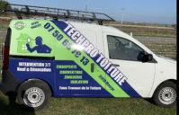 Covering Partiel Dacia – société TechPro Toiture (Mauzac)