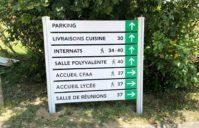 Phase 2 terminée – Signalétique Lycée Lavacant et Beaulieu (AUCH 32)