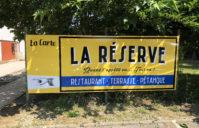 Enseignes Restaurant LA RESERVE (Palaminy)