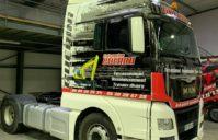 Covering sur Tracteur MAN TGX — (Entreprise GUERINI)