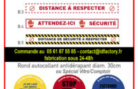 Sticker Spécial — norme CE Covid-19