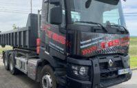 Covering Complet Renault truck (société TBS Terrassement)