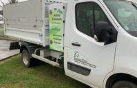 Marquage Camion Société ZZ Espaces Verts