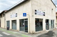 Enseigne + Marquage Vitrine – Pizzeria La Pizzaiola (Palaminy)