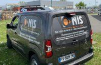 Marquage Publicitaire Peugeot Partner – société ONIS