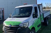 Semi-Covering camion Renault Benne — Entreprise LG RENO
